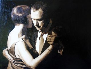 tango portrait painted by numbers