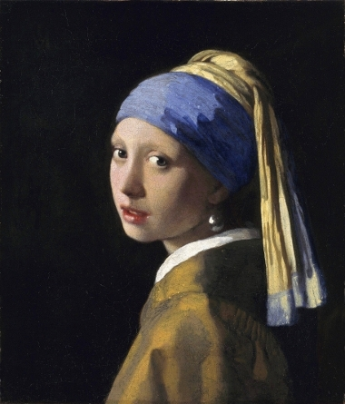 'girl with a pearl earring' painting kit