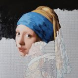 girl with a pearl earring painting by numbers kit