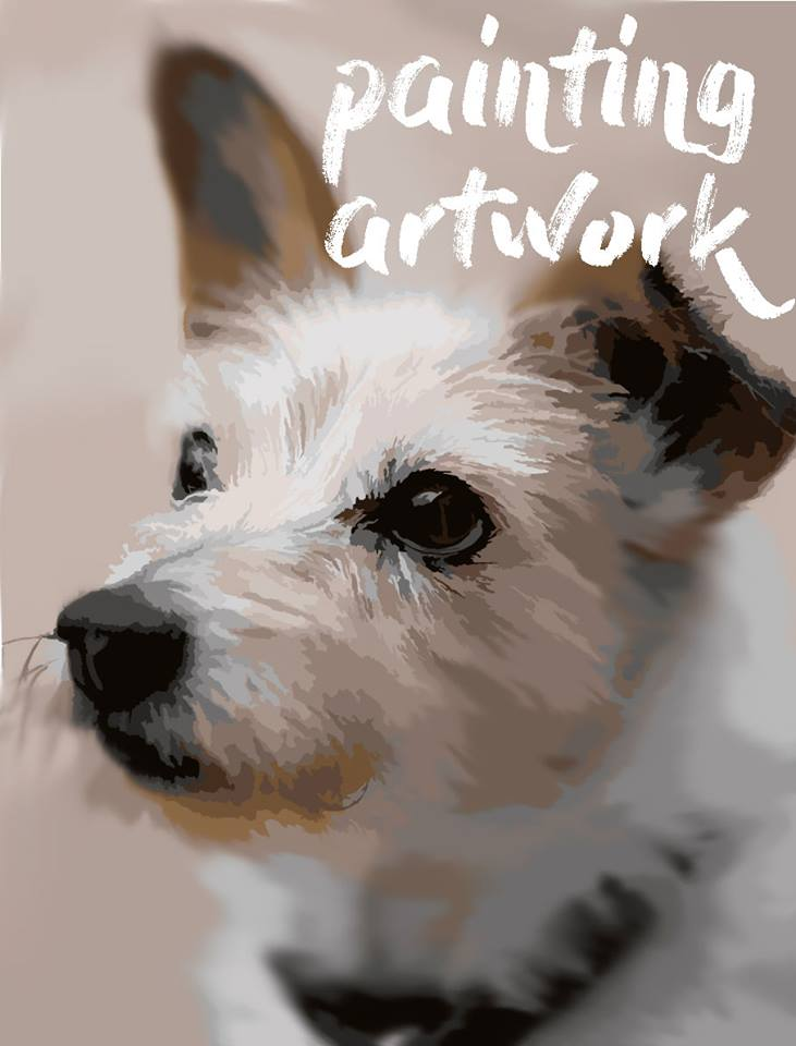 George the terrier paint by numbers