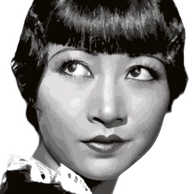 Anna May Wong paint by numbers