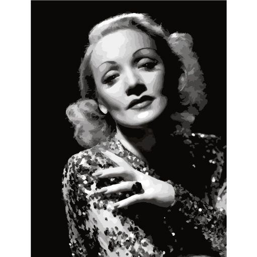 marlenedietrich paint by numbers